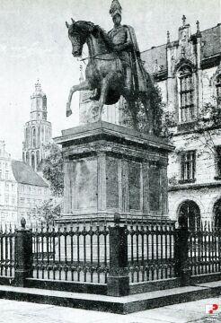 Pomnik Fryderyka Wilhelma III w latach 1900-1920