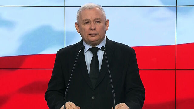 Kaczyński o relacjach Duda - Macierewicz: prezydentowi należy się szacunek