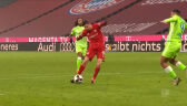 Gole Roberta Lewandowskiego w starciu z Wolfsburgiem w 12. kolejce Bundesligi