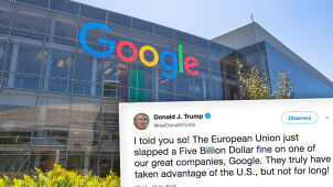 Trump oburzony gigantyczną karą dla Google'a.