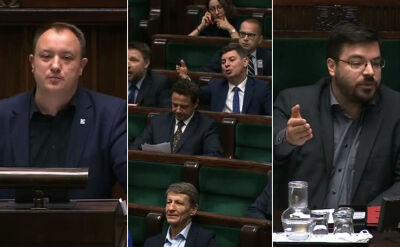 """""""Poseł Marchewka jest w szale, pan Kierwiński jakiś nabuzowany"""""""