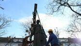 Zdemontowali pomnik księdza Jankowskiego