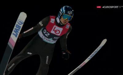 Skok Jakuba Wolnego z kwalifikacji do konkursu w Oslo