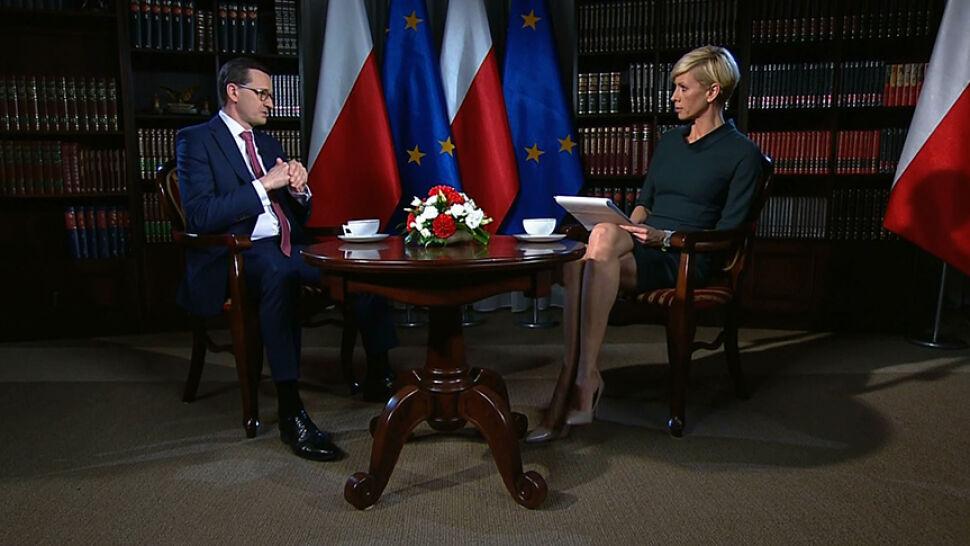 """Premier wierzy w niewinność Andruszkiewicza. Śledztwo """"nie jest powodem do dymisji"""""""