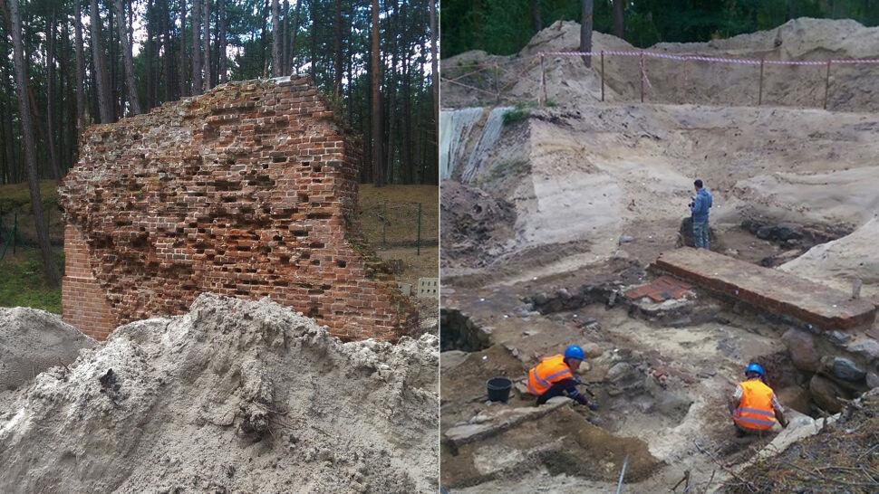 """W """"polskich Pompejach"""" przy murach kościoła znaleźli 50 kamiennych kul"""