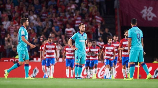 Nie pomógł nawet Leo Messi. Barcelona przegrała z Granadą