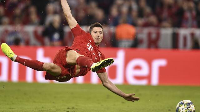 "Robert ""200"" Lewandowski. Strzeliłjubileuszowego gola dla Bayernu"