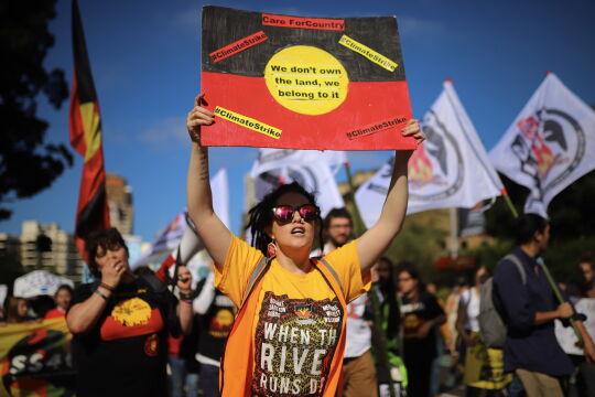 Strajk klimatyczny w Sydney