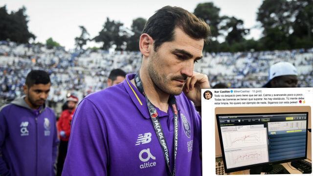 """Casillas pokazał wyniki badań. """"Walczymy dalej"""""""