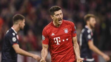 Mocny start Bayernu w Lidze Mistrzów. Lewandowski z 54. golem