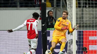 Efektowny start Arsenalu w Lidze Europy. Eintrachtowi nie dał żadnych szans