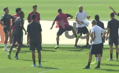 Higuain kopnął trenera podczas treningu