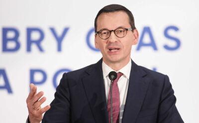 Morawiecki: Prawo i Sprawiedliwość będzie stać na straży normalności