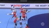 Skrót meczu Francja - Rosja w drugiej fazie grupowej ME w piłce ręcznej kobiet