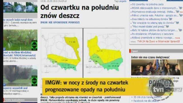 O nadchodzącym deszczu mówi synoptyk TVN Meteo Wojciech Raczyński