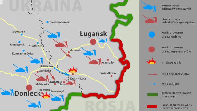 """Bitwa o Iłowajsk. """"Z miasta mało co zostało"""". Rebelianci minują Donieck"""