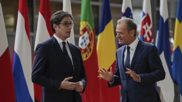 Tusk: nie wszystkie kraje Unii chcą rozpocząć rozmowy akcesyjne z Macedonią Północną