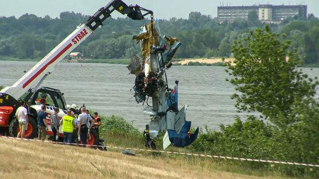 Samolot spadł do Wisły, pilot nie żyje. Pokazy będą kontynuowane w zmienionej formie