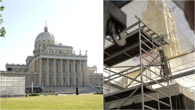 """Zdemontowano pomnik księdza Eugeniusza M. w Licheniu. To pokłosie """"Tylko nie mów nikomu"""""""