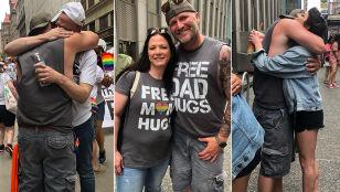 Przytulał na paradzie równości. Napisał apel do rodziców osób LGBTQ