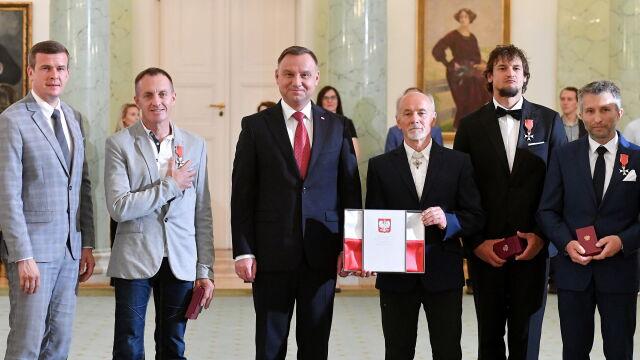 Prezydent uhonorował polskich himalaistów