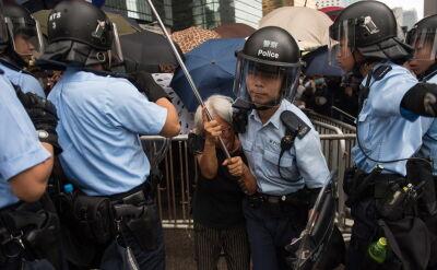 Protesty w Hongkongu nie ustają