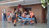Mężczyzna został postrzelony w nogę