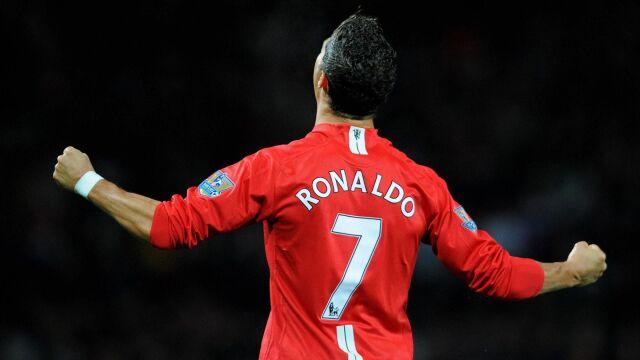 Siedem. Cristiano Ronaldo rzucił klątwę na koszulkę Manchesteru United