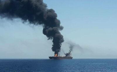 Atak na dwa tankowce w Zatoce Omańskiej
