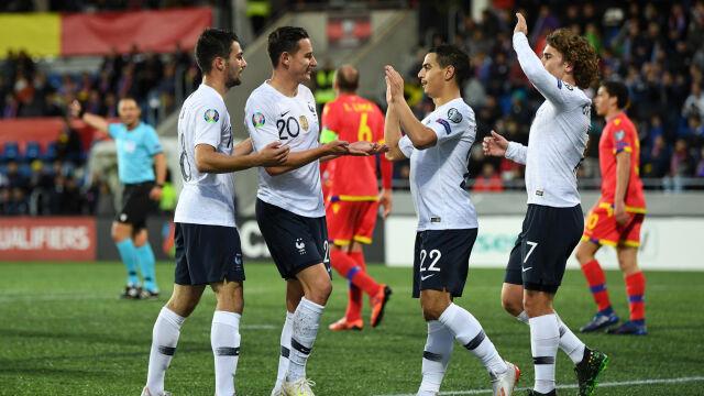 Francuzi odkuli się za niespodziewaną porażkę. Turcja straciła punkty z Islandią