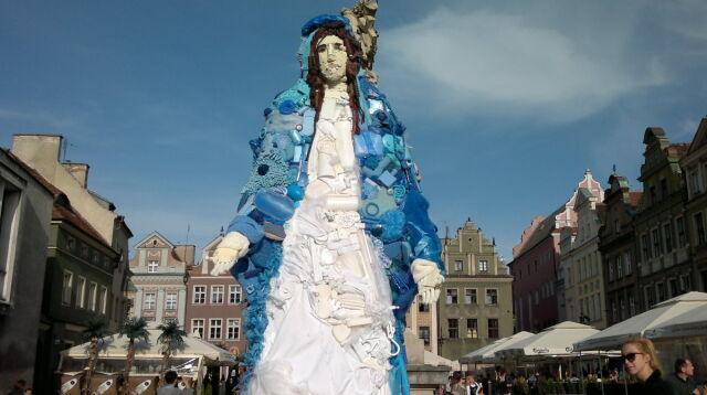 Figura Matki Boskiej na Starym Rynku w Poznaniu