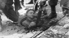 Jeden z powstańców schwytanych w okolicach Dworkowej