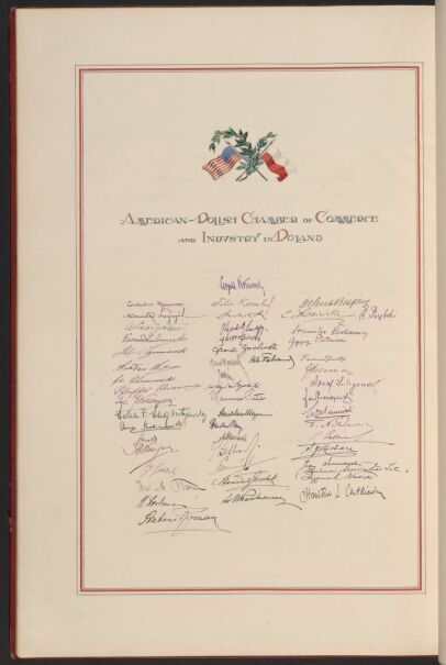"""""""Deklaracja Przyjaźni i Podziwu dla Ameryki"""""""