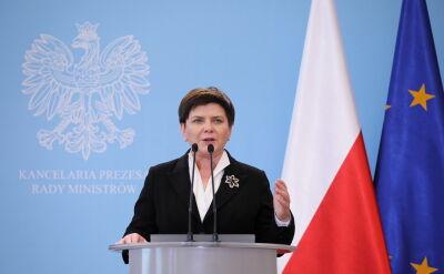 Beata Szydło: rozmowy ciągle są otwarte i trwają
