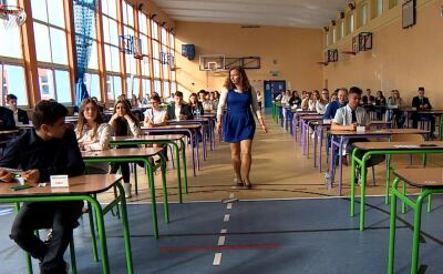 Widmo odwołanych egzaminów szkolnych