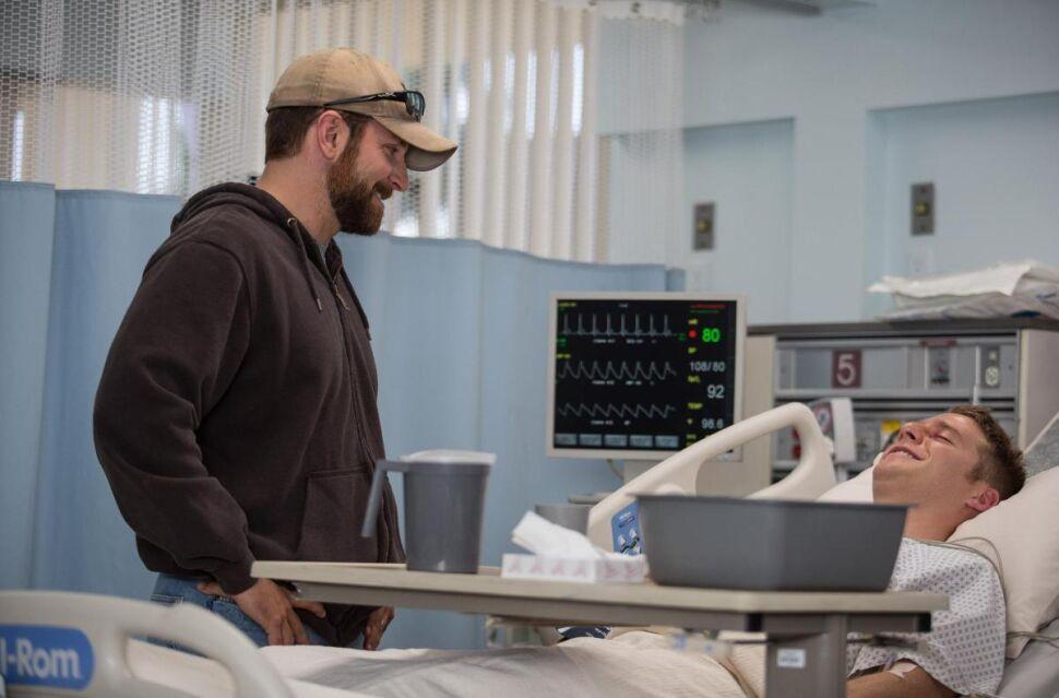 Bradley Cooper i Jake McDorman