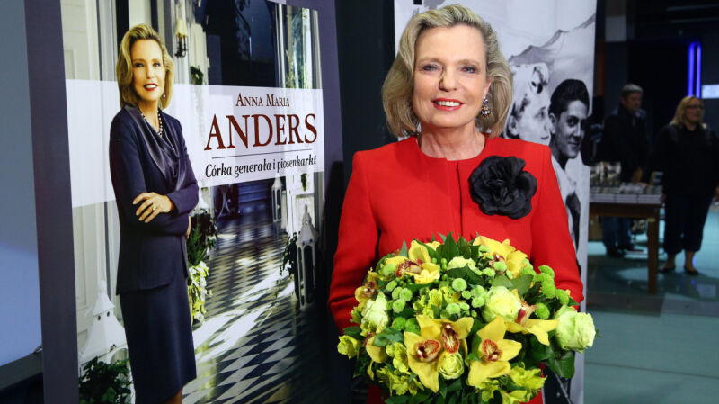 Anna Maria Anders wchodzi do polskiej polityki