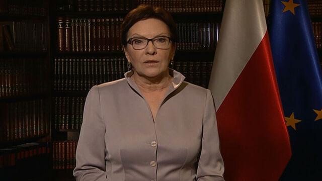 Ewa Kopacz: Polska przyjmie tylko uchodźców, nie emigrantów ekonomicznych
