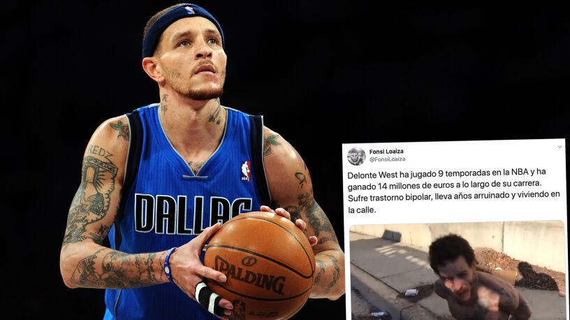 """Grał osiem lat w NBA, dziś jest na życiowym zakręcie. """"Możemy się tylko modlić za niego"""""""