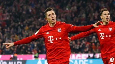 Pięć goli Bayernu w hicie Bundesligi. Lewandowski wyrównał rekord