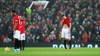 """Czerwone Diabły wygwizdane na Old Trafford. """"Toksyczna atmosfera"""""""