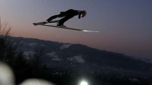 Kubacki pokazałmoc w Zakopanem. Był najlepszy na treningu i w kwalifikacjach