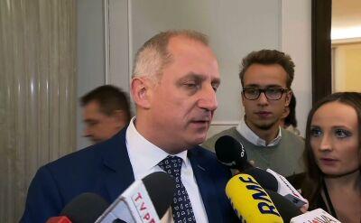 Neumann: nie będzie zgody, żeby dzisiaj na sali plenarnej rozpoczynać posiedzenie Sejmu