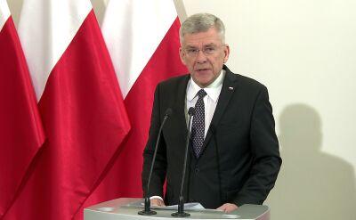 Karczewski: wierzę, że PO nie będzie blokować mównicy w Sejmie