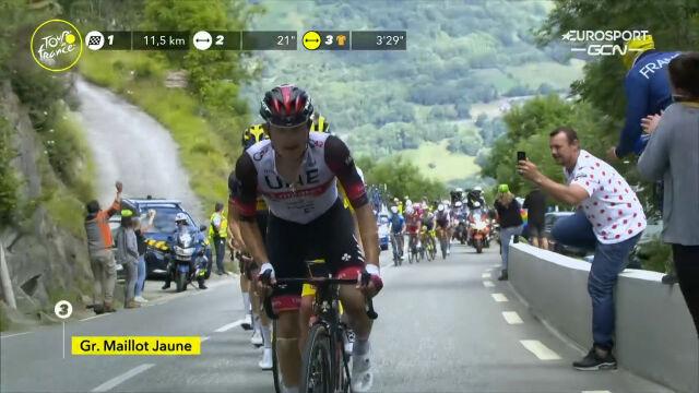 Majka podkręcił tempo w grupie lidera na 17. etapie Tour de France