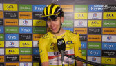 Pogacar po wygraniu 18. etapu Tour de France