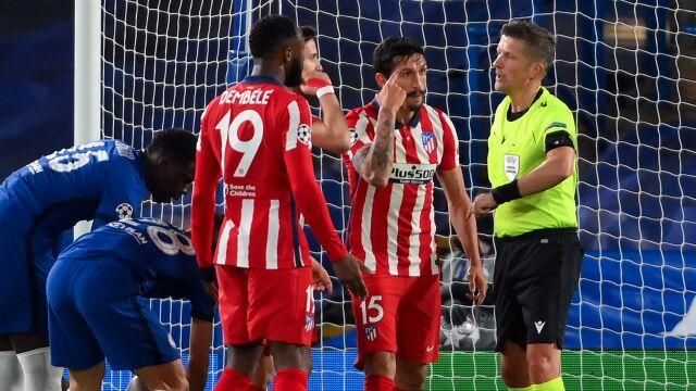 UEFA surowo ukarała piłkarza Atletico. Odpowiedział ironicznym komentarzem