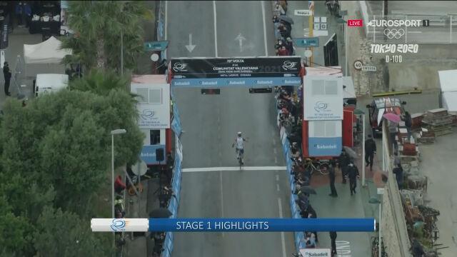 Najważniejsze wydarzenia na 1. etapie Wyścigu dookoła Walencji