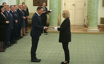 Julia Przyłębska prezesem Nowego Trybunału Konstytucyjnego