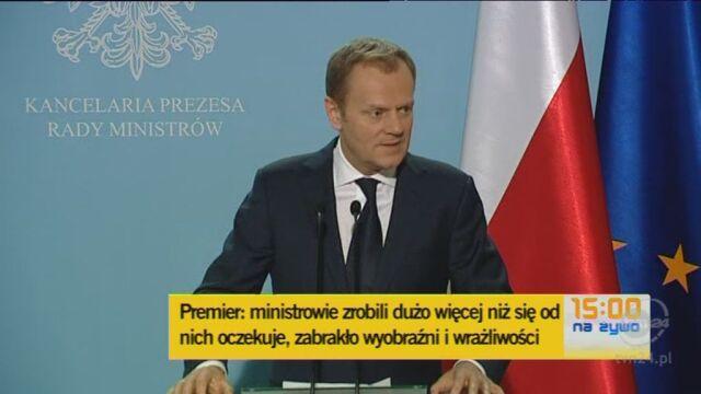 Tusk: Festiwalu dymisji nie będzie (TVN24)